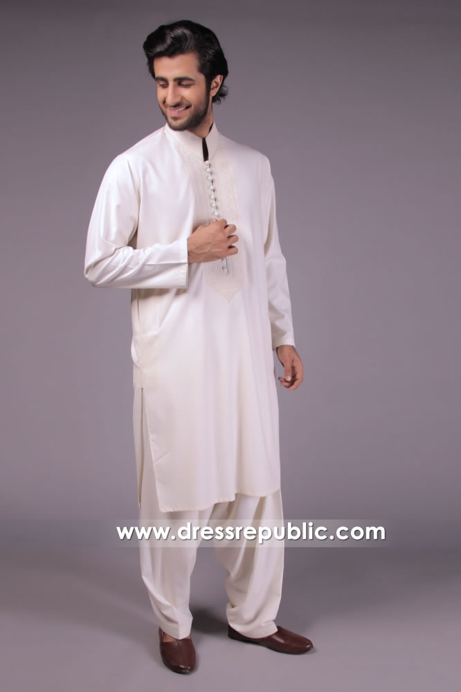DRM5146 Festive Embroidered Kurta and Shalwar Kameez for Wedding Guest