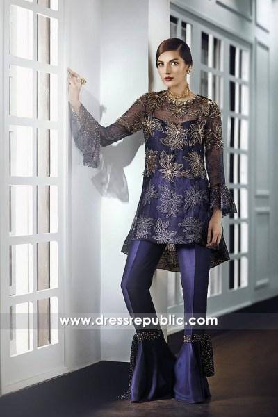 DR14685 Pakistani Designer Eid Dresses 2018 Sydney, Perth, Melbourne, Australia