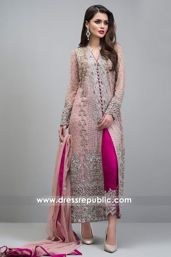 DR14720 Pakistani Pink Dress for Wedding Guests 2018 Sydney, Perth, Australia