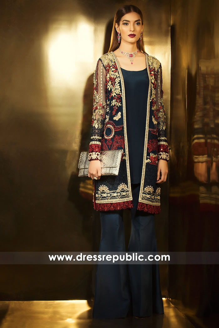 DR14742 Elan Luxury Pret Collection 2018 with Price & Worldwide Shipping