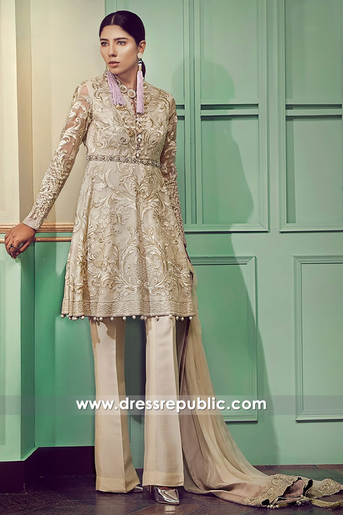 DR14759 Wedding Guest Pakistani Designer Wears 2018 Collection Online Shop