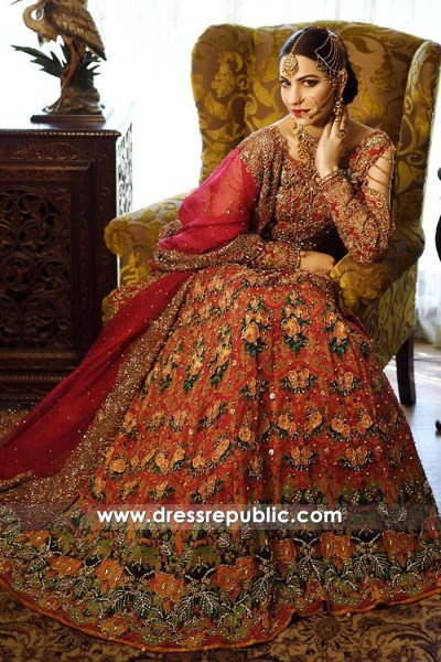 DR14775 Dress Republic Bridal Lehenga 2018 Collection Made to Order Bridals