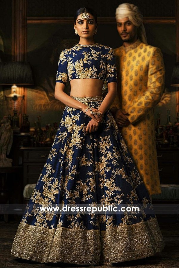 DR14825 Sabyasachi Bridal Collection 2018 Los Angeles, Chicago, Houston, Miami