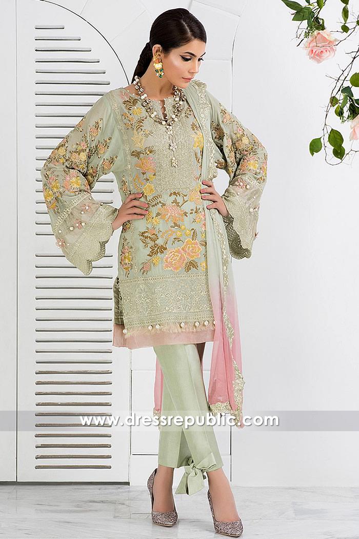 DR14839 Elan Pakistani Designer Party Dresses 2018 South Africa Buy Online