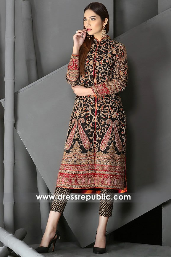 DR14846 HSY Wedding Guest Dresses 2018 UK, USA, Canada, Australia