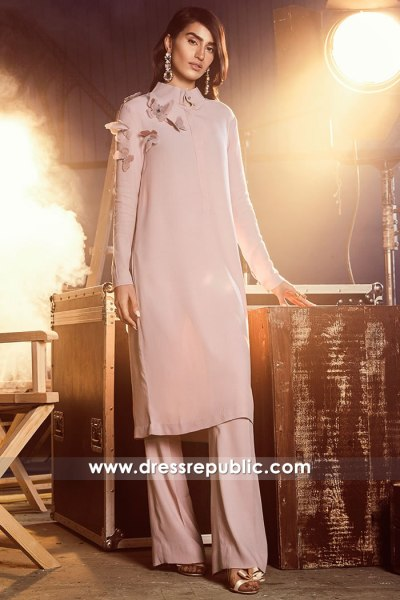 DR14882 Pink Casual Shalwar Kameez for Birthday Party Guest Online Buy