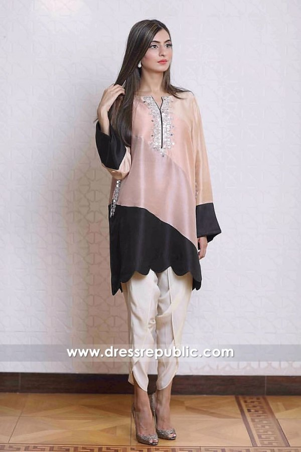 DR14903 Casual Pakistani Dresses With Tulip Pants Toronto, Mississauga, Canada