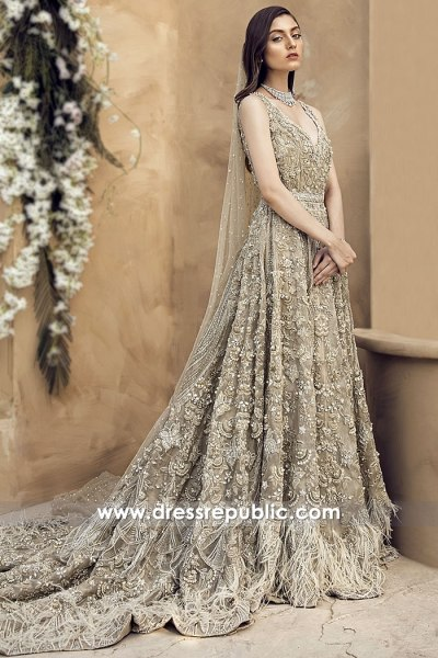 DR14984 Suffuse Sana Yasir Bridal Collection 2018 USA, Canada, UK, Australia