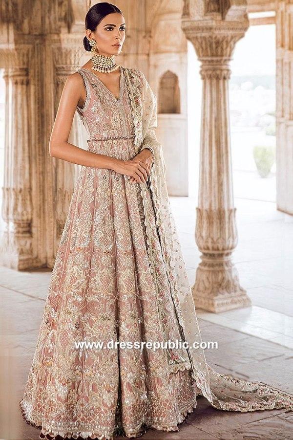 DR15063 Tena Durrani Bridal Lehenga Los Angeles, San Jose, San Diego, California