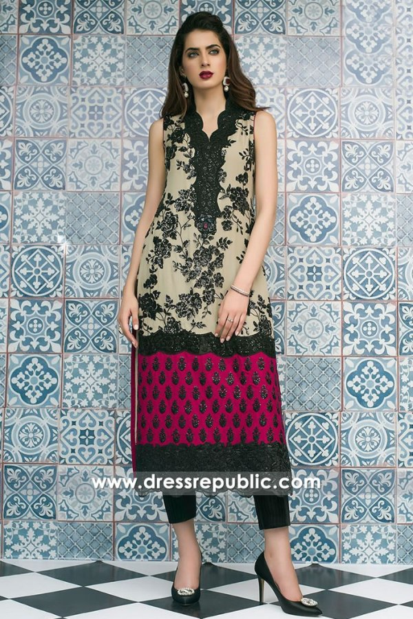 DR15158 Zainab Chottani Party Dresses Winter 2018 Collection UK, USA, Canada