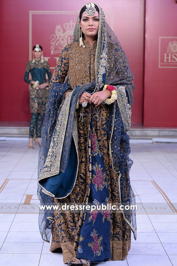 DR15202 HSY Anarkali Bridal Dress UK Buy in London, Manchester, Birmingham