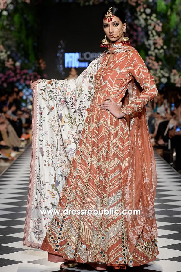 DR15215 PFDC Fashion Show 2018 Buy Pakistani Designer Dresses in UK