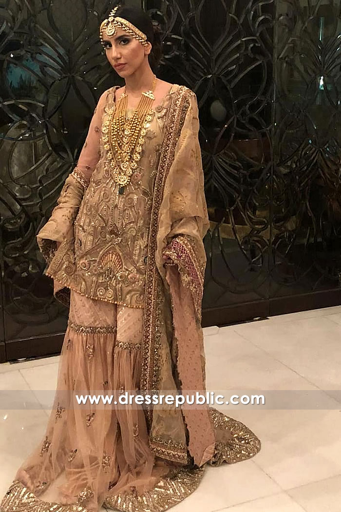 DR15255 Pakistani Bridal Dress for Engagement Party 2019 Los Angeles, California