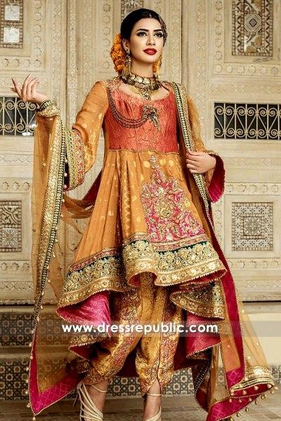 DR15256 Nilofer Shahid Dresses 2019 New York, New Jersey, California, Texas