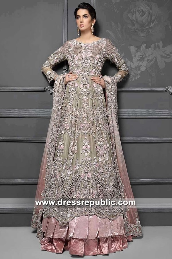 DR15337 Maria B Bridal Lehenga 2019 New York, New Jersey, California, USA
