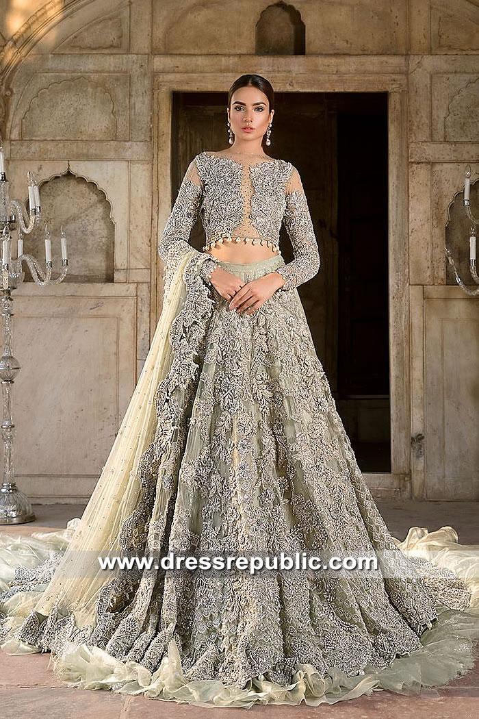 DR15392 Pakistani Bridal Dresses Shops in Sydney, NSW, Australia