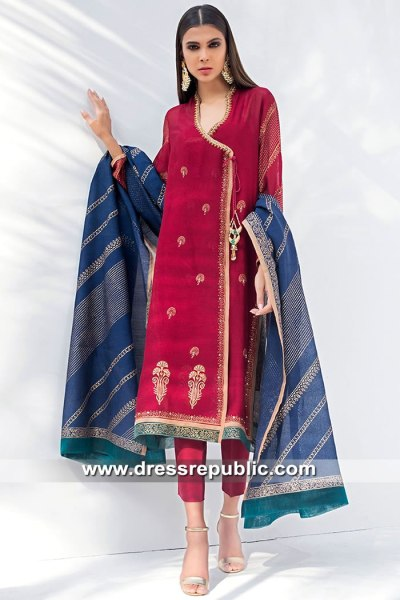 DR15406 Eid 2019 Angrakha Canada Traditional Styles Buy Online