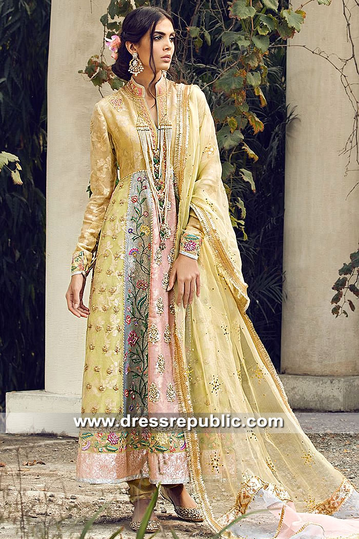 DR15493 Designer Anarkali USA Buy in New York, New Jersey, California