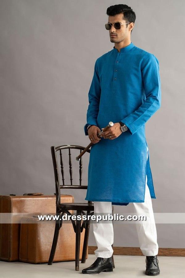DRM5279 Blue Kurta Shalwar Suits Edison, Elizabeth, Jersey City, Newark, NJ