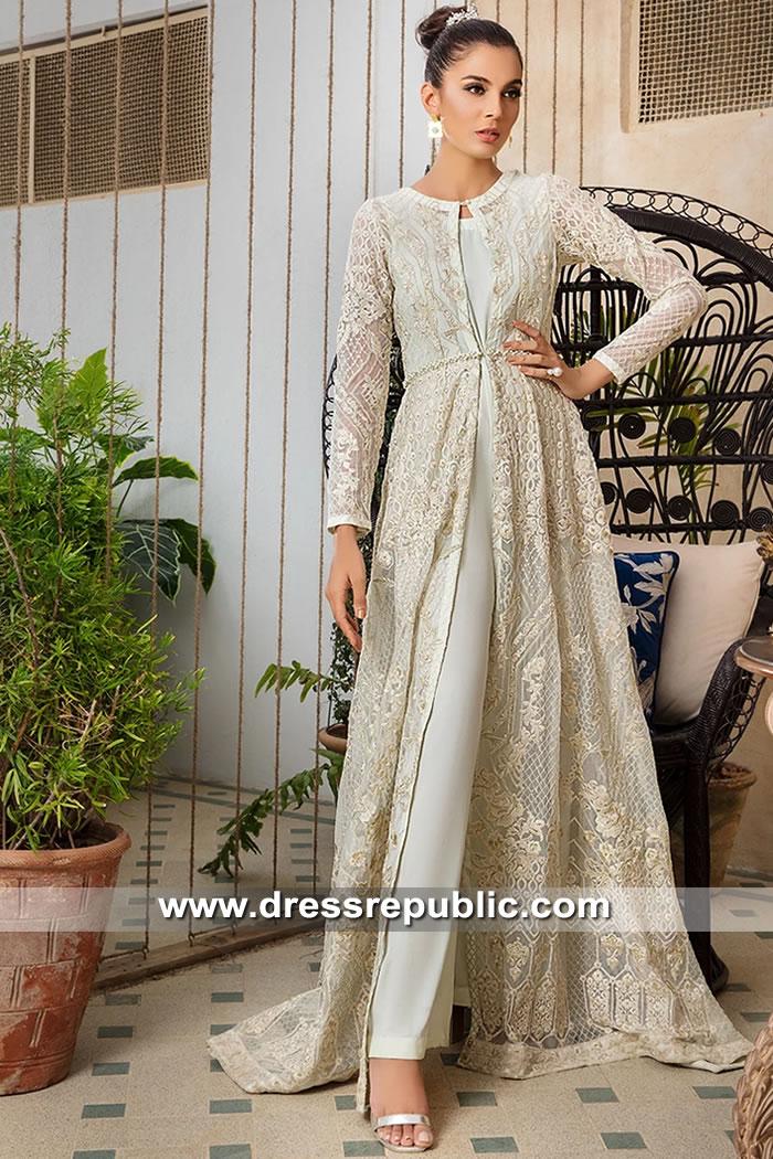 DR15630 Pakistani Deisgner Embroidered Dresses 2019 Manchester, Birmingham