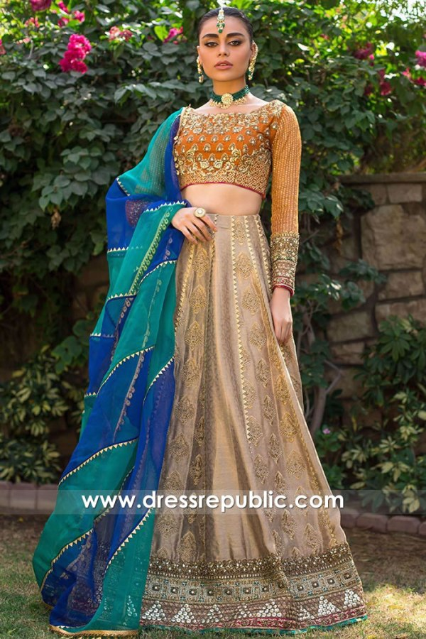 DR15752 Lehenga Choli for Sister of the Bride, Sister of the Groom Dress Online