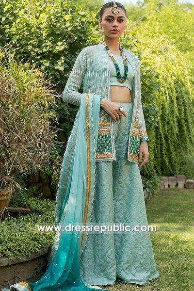 DR15755 Zainab Chottani Sister of the Bride Sharara Dress 2020 USA, Canada, UK