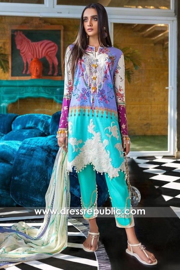 DRP1053 Sana Safinaz Muzlin 2020 Lawn Suits Wholesalers Australia