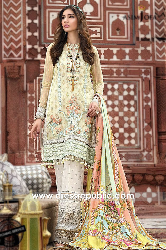 DRP1114 Asim Jofa Luxury Lawn 2020 Bristol, Cardiff, Glasgow, Edinburgh, UK