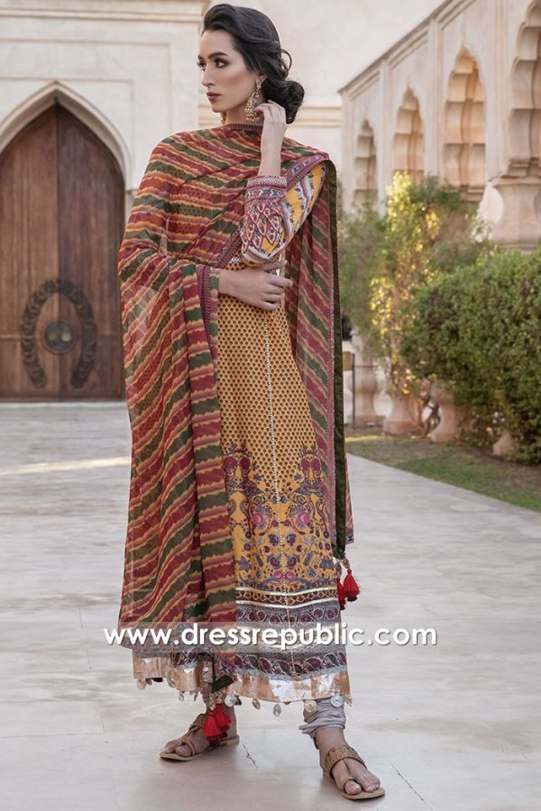DRP1231 Sobia Nazir Pakistani Lawn Suits Irvine, San Francisco, Oakland, Fremont