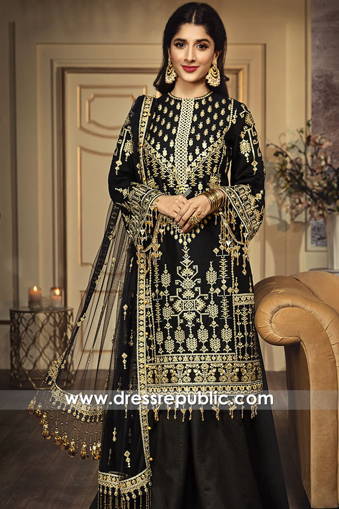 DRP1254 Pakistani Designer Lawn Suits Stitched Prices in USA and Canada
