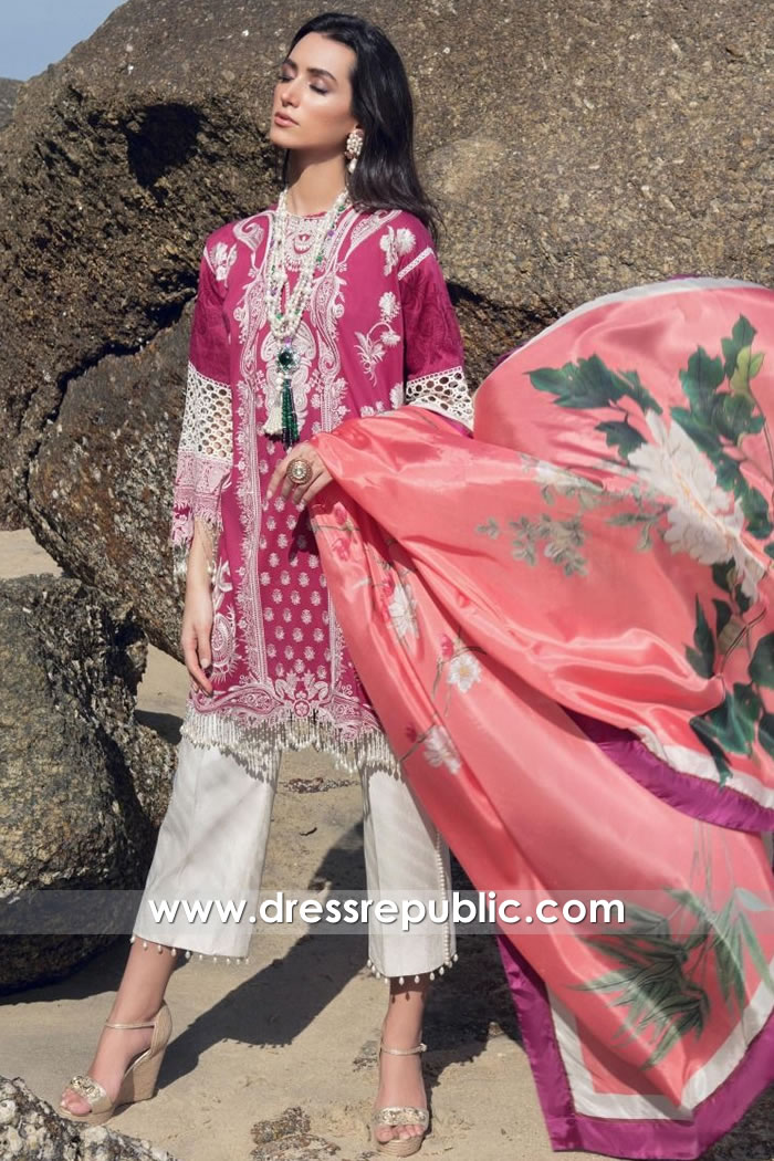 DRP1277 Sana Safinaz Luxury Lawn 2020 Stitched Prices Online Shopping