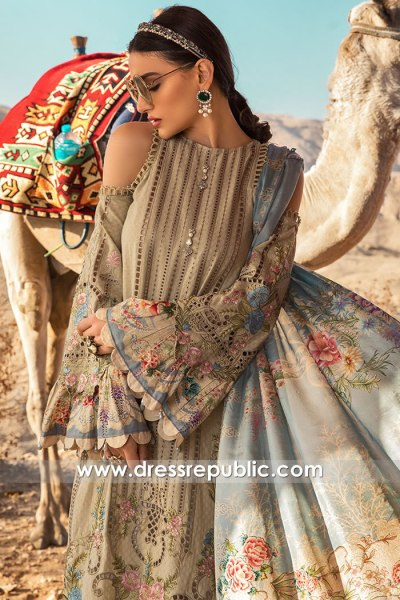 DRP1307 Maria B Lawn SS20 Saudi Arabia Buy in Riyadh, Jeddah, Dammam