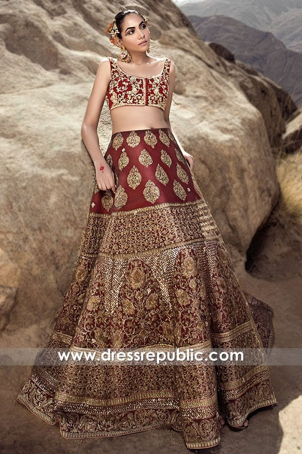 DR15812 Wedding Lehenga Choli 2020 Summer Collection London, Manchester, UK