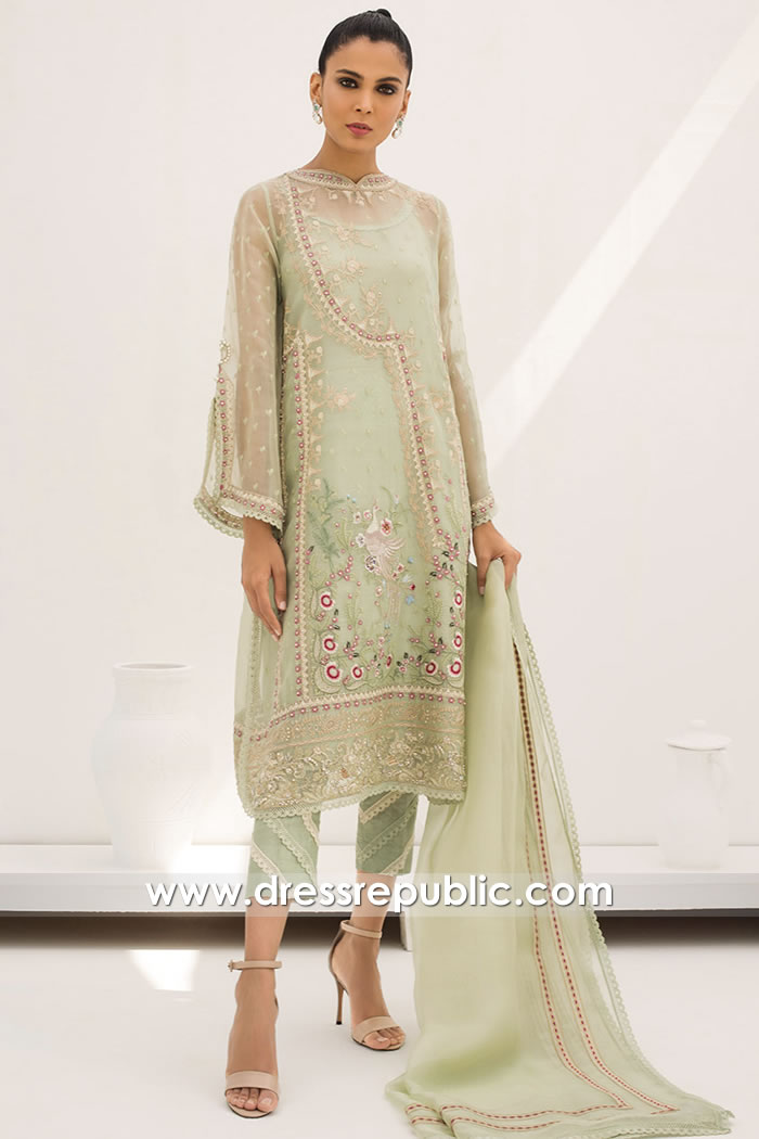 DR15830 Pakistani Designer Party Wear 2020 New York, New Jersey, Texas, USA