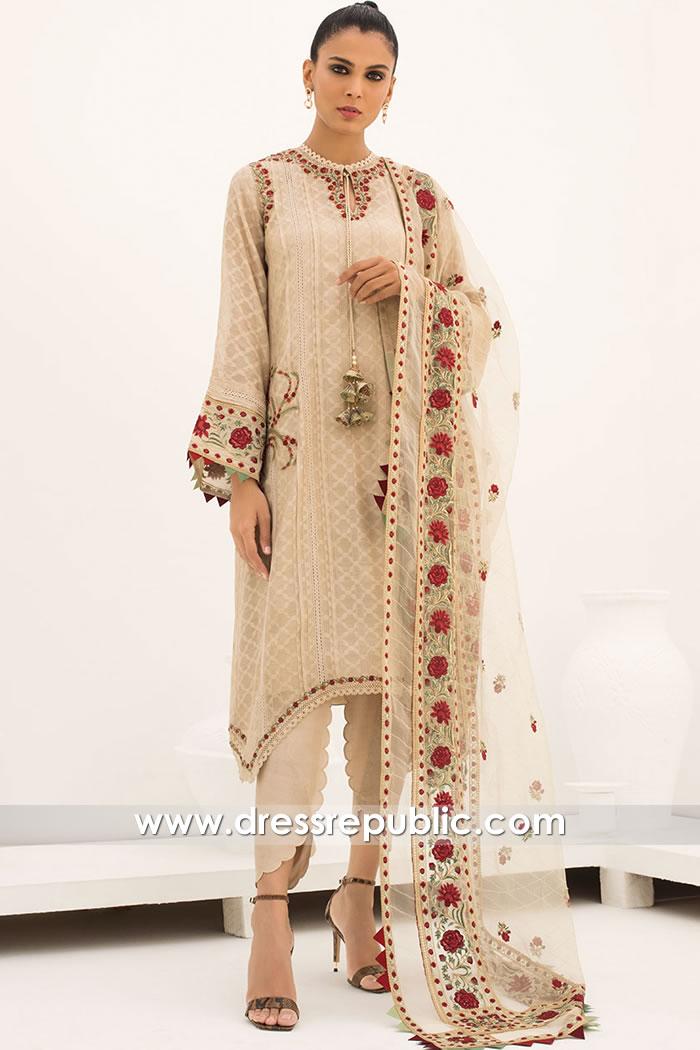 DR15838 Pakistani Designer Party Wear 2020 Riyadh, Jeddah, Saudi Arabia