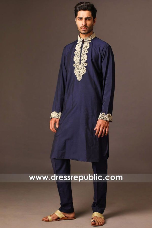 DRM5403 Deepak Perwani Formal Kurtas Buy Online New York, New Jersey, USA