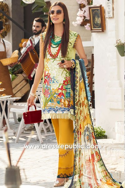 DRP1590 Lawn Suits Wholesale Karachi, Lahore, Islamabad, Faisalabad, Pakistan