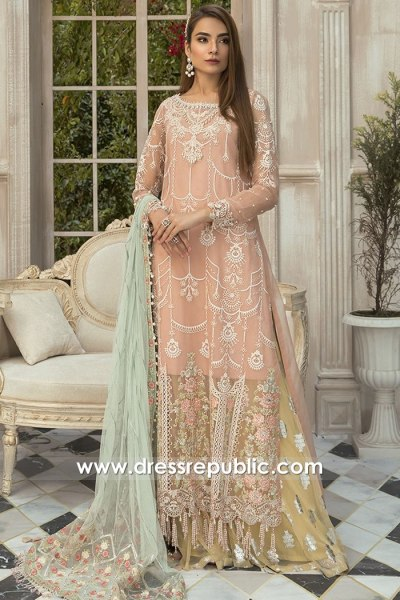 DRP1621 Maria B Mbroidered Eid 2020 Buy Online USA, Canada, Australia