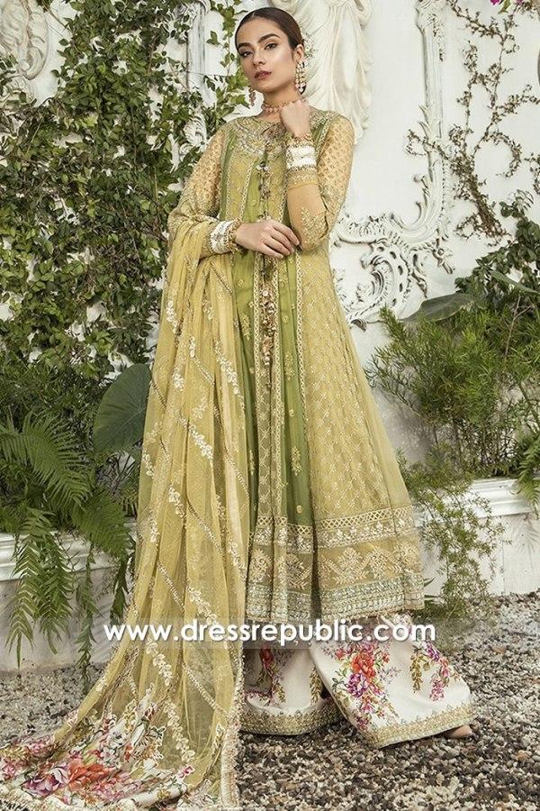 DRP1622 Maria B Mbroidered Eid 2020 Online Karachi, Lahore, Islamabad, Pakistan