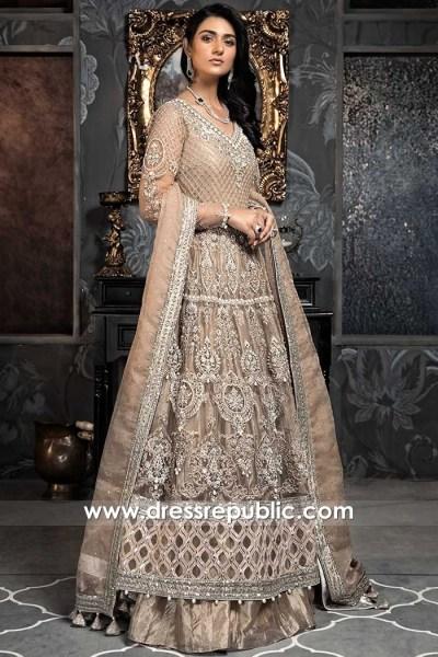 DR15892 Pakistani Designer Bridal Dresses 2020 Collection Buy Online in USA