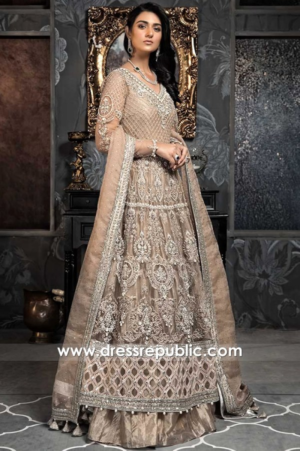 DR15892 Pakistani Designer Bridal Dresses 2020 Collection Buy Online in USA
