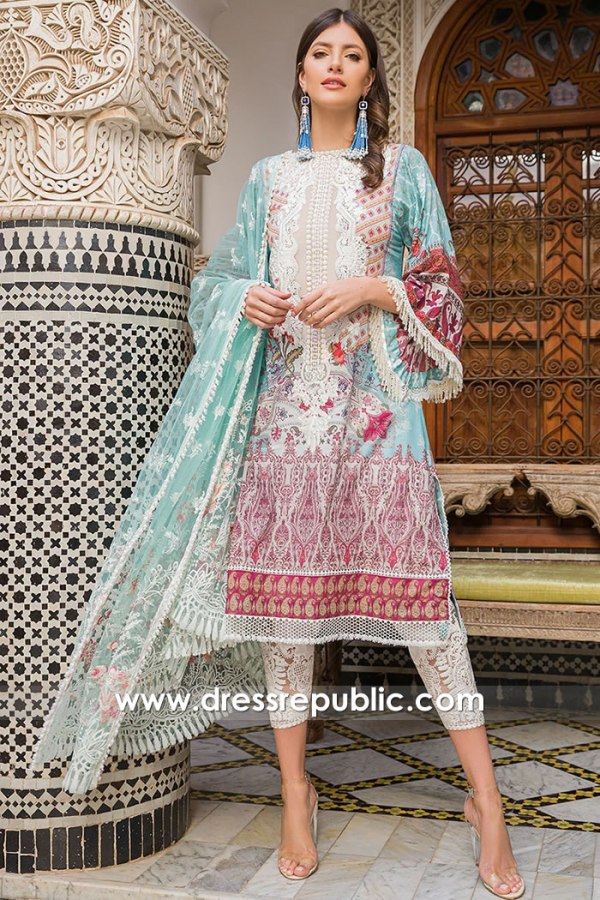 DRP1631 Sobia Nazir Luxury Lawn 2020 UK Buy Online London, Manchester, Leeds