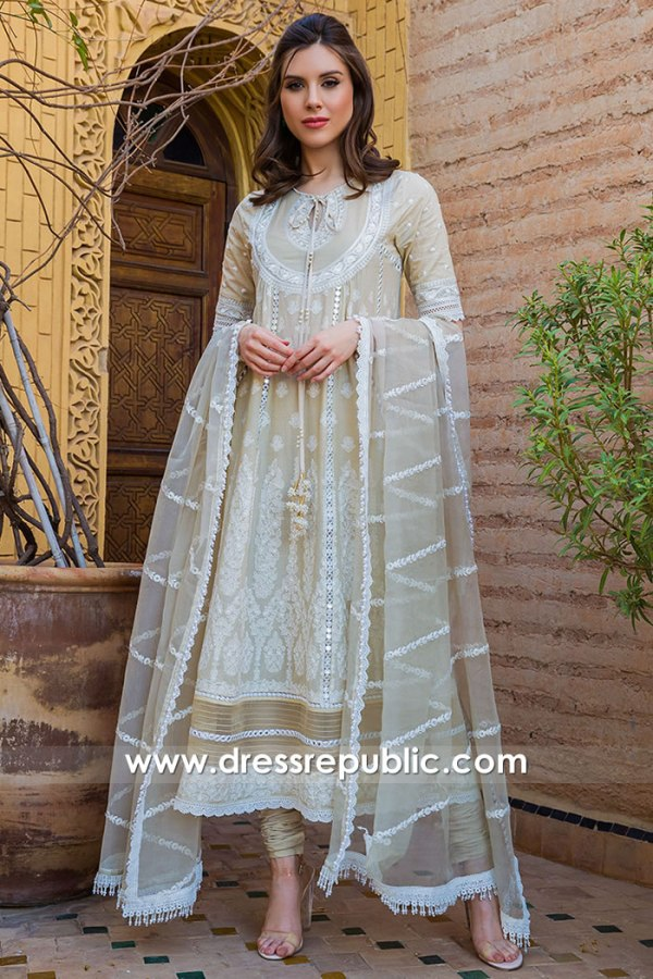 DRP1639 Sobia Nazir Luxury Lawn 2020 Buy Online California, Illinois, Michigan
