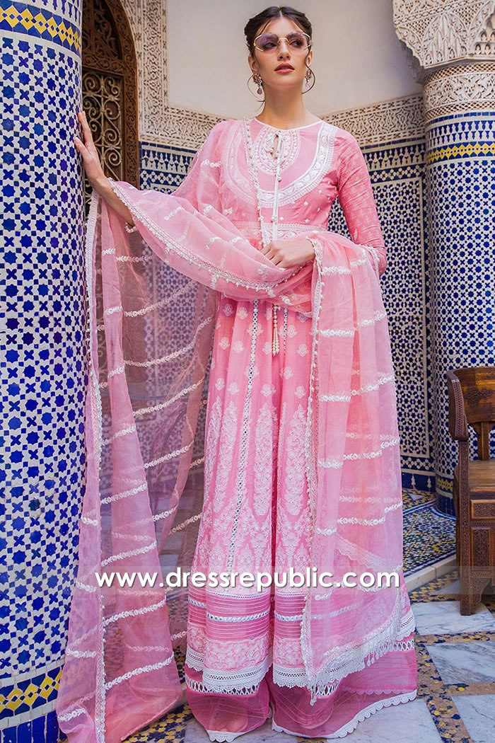 DRP1641 Sobia Nazir Luxury Lawn 2020 Houston, Dallas, San Antonio, Austin, TX