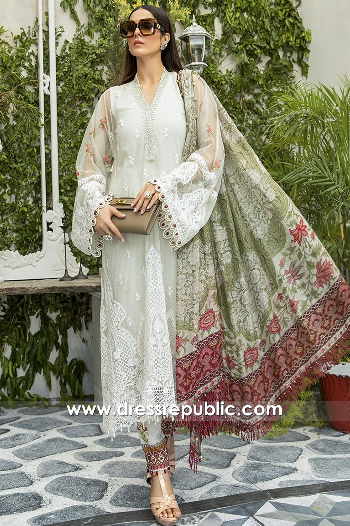 DRP1678 Maria B Lawn Eid Collection 2020 Denver, Phoenix, Las Vegas, Columbus