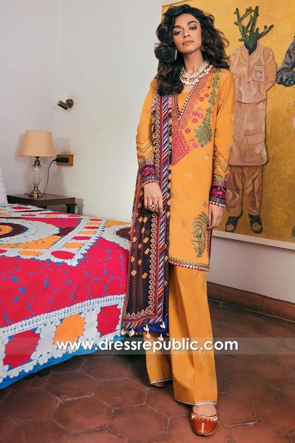 DRP1681 Zaha Lawn Eid 2020 Stitched Suits Price USA, Canada, UK, Australia