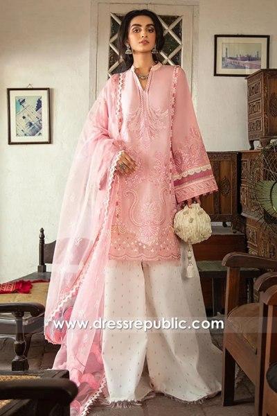 DRP1708 Buy Online Pakistani Designer Lawn Brands 2020 Summer Eid Collection