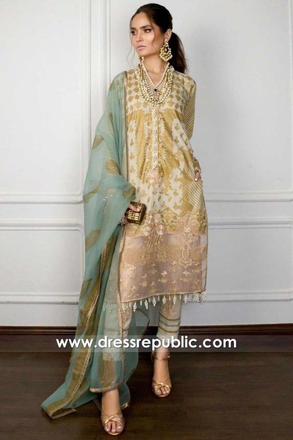 DRP1731 Sana Safinaz Muzlin Eid 2020 Pakistan, Saudi Arabia, UAE, Qatar, Kuwait
