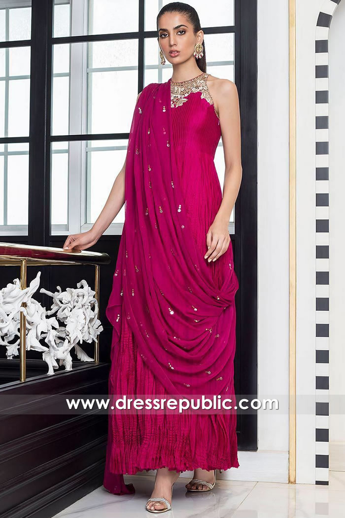 DR15871 Pakistani Designer Dresses 2020 in Houston, Dallas, San Antonio,
