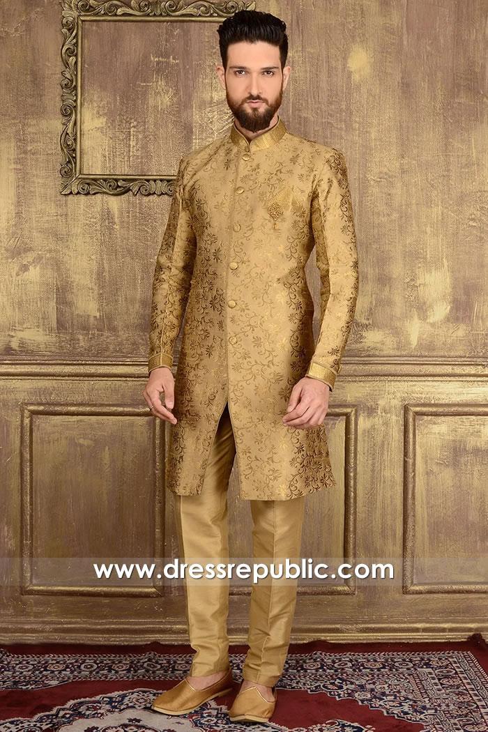 DRM5518 Pakistani Designer Sherwanis 2020 Buy in Toronto, Mississauga, Ontario